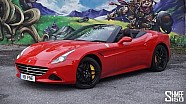 Mountain Roads in the Ferrari California T