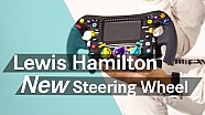 Unboxing F1: Lewis Hamilton's new 2016 steering wheel
