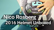 Unboxing F1: Nuevo casco 2016 de Nico Rosberg