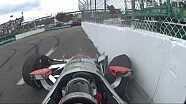 Will Power pounds wall in IndyCar practice - St. Petersburg