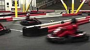 Greg Biffle runs a little Mario Kart