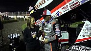 2016 World of Outlaws Craftsman Sprint Car Series Victory Lane from Stockton