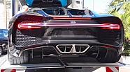 Bugatti Chiron à Monaco