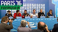 Drivers Discuss Incredible Paris Street Circuit - Formula E