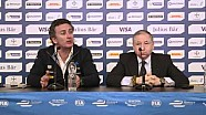 Formula E - 2016 Paris ePrix - Pre-event press conference - Jean Todt and Alejandro Agag