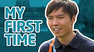 My First Time! w/ Ma Qing Hua - Formula E