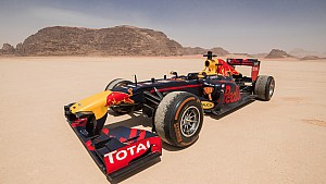 Red Bull Racing F1 Showrun - Jordania