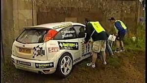 Несчастливый поворот на Jim Clark Memorial Rally 2003 года
