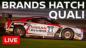LIVE - Blancpain Sprint Series - Brands Hatch 2016 - Qualifiche