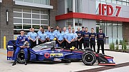 Brabham takes wraps off PIRTEK Team Murray IndyCar with the Indy Fire Department