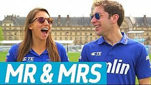 Mr & Mrs: Robin Frijns vs Simona de Silvestro! - Formula E