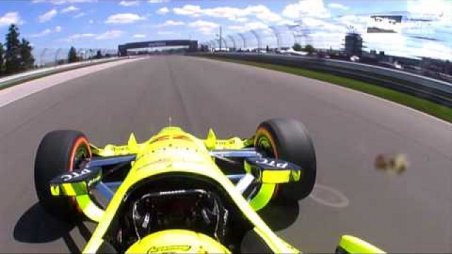 #INDYCAR In-Car Theater: Simon Pagenaud Sets Pole For #GPofINDY