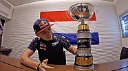 Max Verstappen on his first win in Formula One