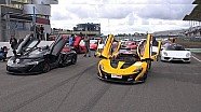 SuperCarSunday: P1 GTR, LaFerrari, Veyron, Agera R in Assen