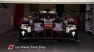 Prueba en Le Mans: destacados Audi