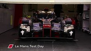Test in Le Mans: Highlights, Audi