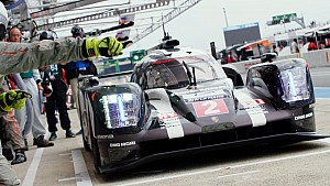 Test in Le Mans: Highlights, Porsche