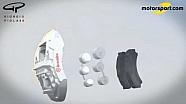 Джорджо Пиола - конструкция тормозов в Ф1