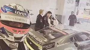 Pilotos intercambian prácticas con Aston Martin Racing, video de Nicki Thiim