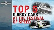 The Top 5 unusual cars at FoS