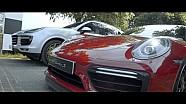 Cayenne Turbo S vs 911 Turbo S on the Goodwood Hillclimb