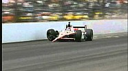 Авария Джей-Ар Хильдебранда на последнем круге Indy 500