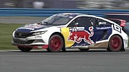 Daytona Red Bull Global Rallycross Action
