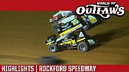 World of Outlaws Craftsman Sprint Cars Rockford Speedway June 29th, 2016 | HIGHLIGHTS