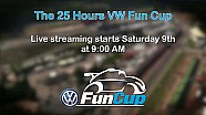EN VIVO: Las 25H VW Fun Cup 2016