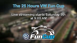 Le live vidéo des 25H VW Fun Cup 2016