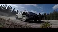 Toyota test de Yaris WRC 2017