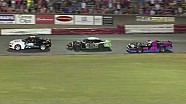 Race car retaliation after crash at Bowman Gray Stadium