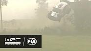 WRC - Ралі Фінляндія 2016: Аварії Бертеллі та Камійі