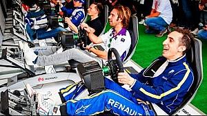 Fans vs Racing Drivers! Formula E Simulator eRace Season Highlights