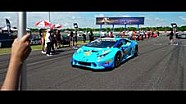Highlights from Round 2 of Lamborghini Super Trofeo Asia at Buriram