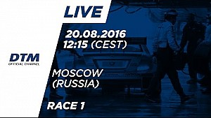 DTM Moskova 2016 - 1. Yarış