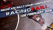 Racing and Rally Crash Compilation Week 08 February 2016