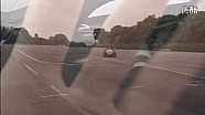 卢卡斯·迪格拉西试驾Roborace自动驾驶赛车