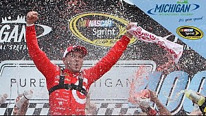 Larson: 'We parked it for him'