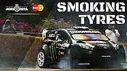On Board Ken Block's Tyre Destroying Hillclimb!