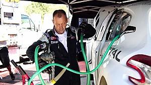 Les tests de Peugeot-Hansen à Lessay