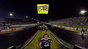 #MelloYello360 Experience Del Worsham's Mello Yello Funny Car run in 360