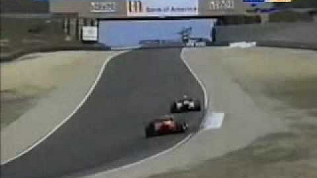 Laguna Seca 1996: The Pass