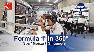 F1 in 360° - Spa / Monza / Singapore - Sauber F1 Team