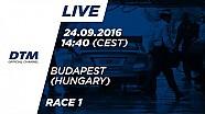Наживо: Гонка 1 - DTM Будапешт 2016