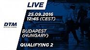 Наживо: Кваліфікація (Гонка 2) - DTM Будапешт 2016