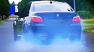 BMW M5 E60 V10 Sound Eisenmann Race Exhaust Acceleration 0-100