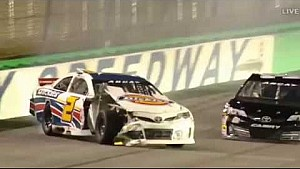 Sarah Cornett-Ching Hard Crash - ARCA Kentucky