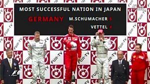 F1日本大奖赛特殊数字