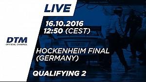 2. Yarış Sıralama Turları - DTM Hockenheim Final 2016
